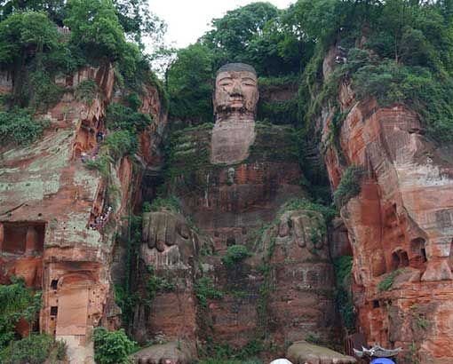 Leshan-Buddha-statue